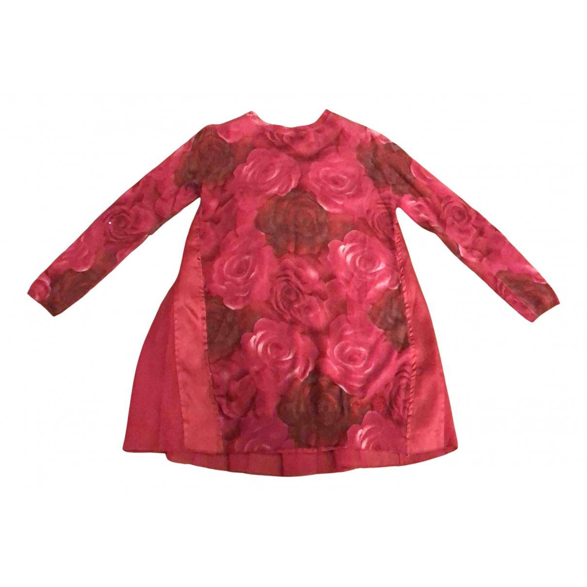 Blumarine - Robe    pour enfant - rouge