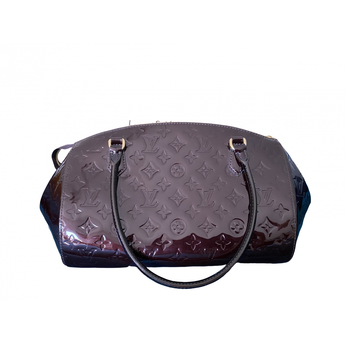 Louis Vuitton Sherwood Handtasche in  Lila Lackleder