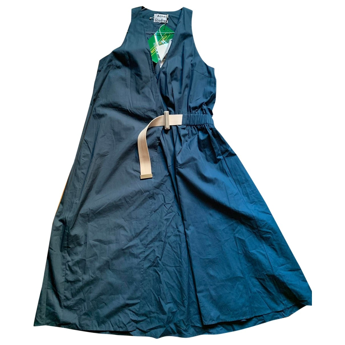 Acne Studios - Robe   pour femme en coton - vert