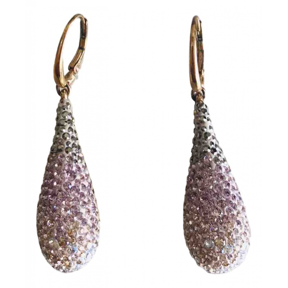 Swarovski - Boucles doreilles   pour femme en cristal - multicolore