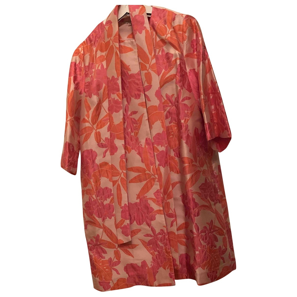 Parosh \N Kleid in  Rosa Baumwolle