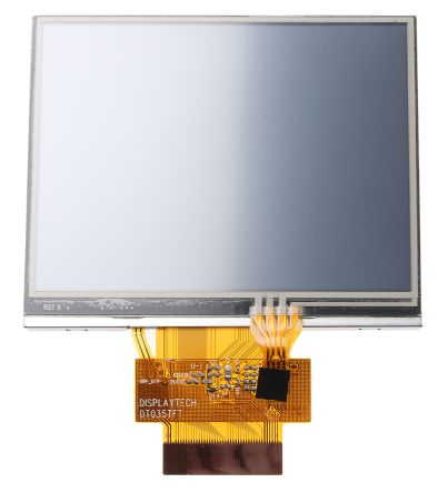 Displaytech DT035BTFT-TS TFT LCD Colour Display / Touch Screen, 3.5in QVGA, 320 x 240pixels