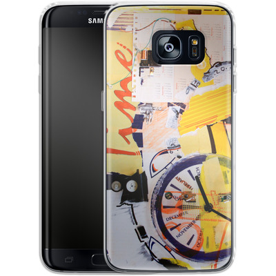 Samsung Galaxy S7 Edge Silikon Handyhuelle - Its Time For von Kaitlyn Parker