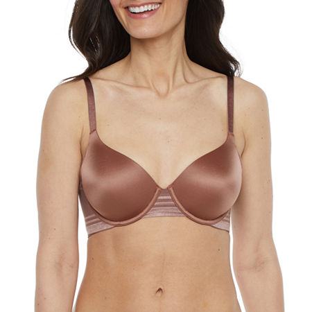 Ambrielle Full Coverage Bra, B , White