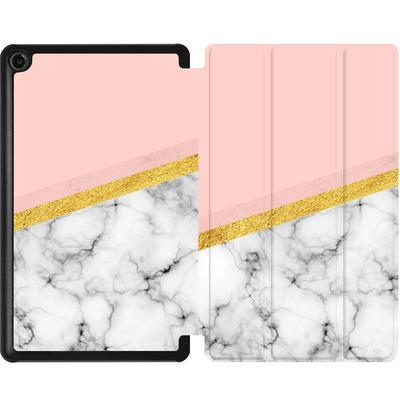 Amazon Fire 7 (2017) Tablet Smart Case - Marble Slice von caseable Designs