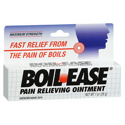 BoilEase Pain Relieving Ointment Maximum Strength 1 oz by BoilEase