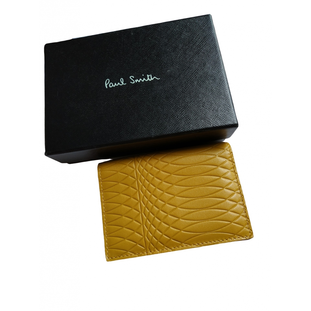 Paul Smith \N Yellow Leather Purses, wallet & cases for Women \N