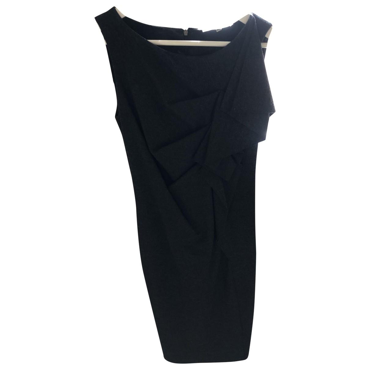 Max Mara \N Kleid in  Grau Wolle