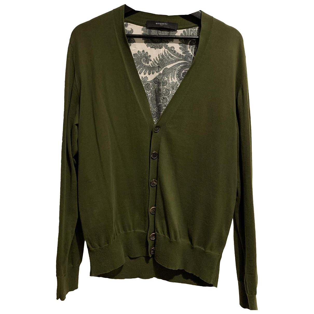 Givenchy \N Pullover.Westen.Sweatshirts  in  Gruen Baumwolle
