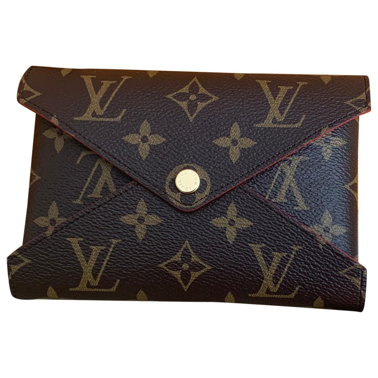 Louis Vuitton Kirigami Brown Cloth Purses, wallet & cases for Women N