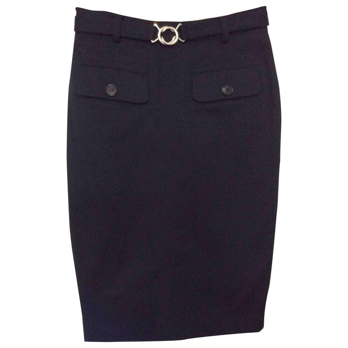 Mcq - Jupe   pour femme en coton - noir