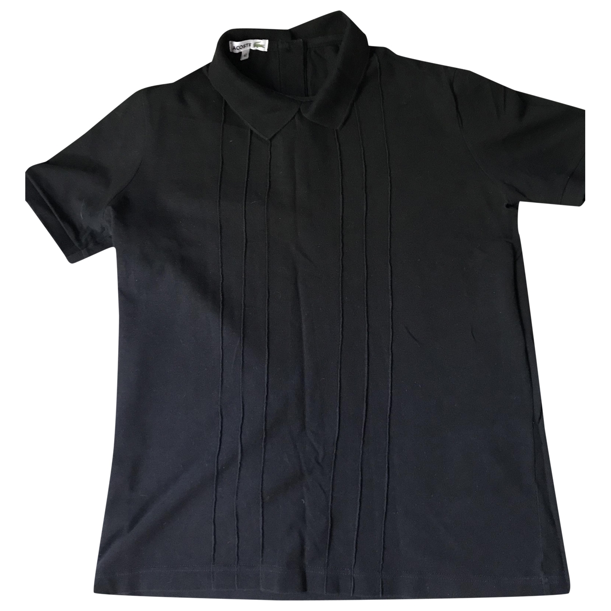 Lacoste \N Black Cotton  top for Women 40 FR