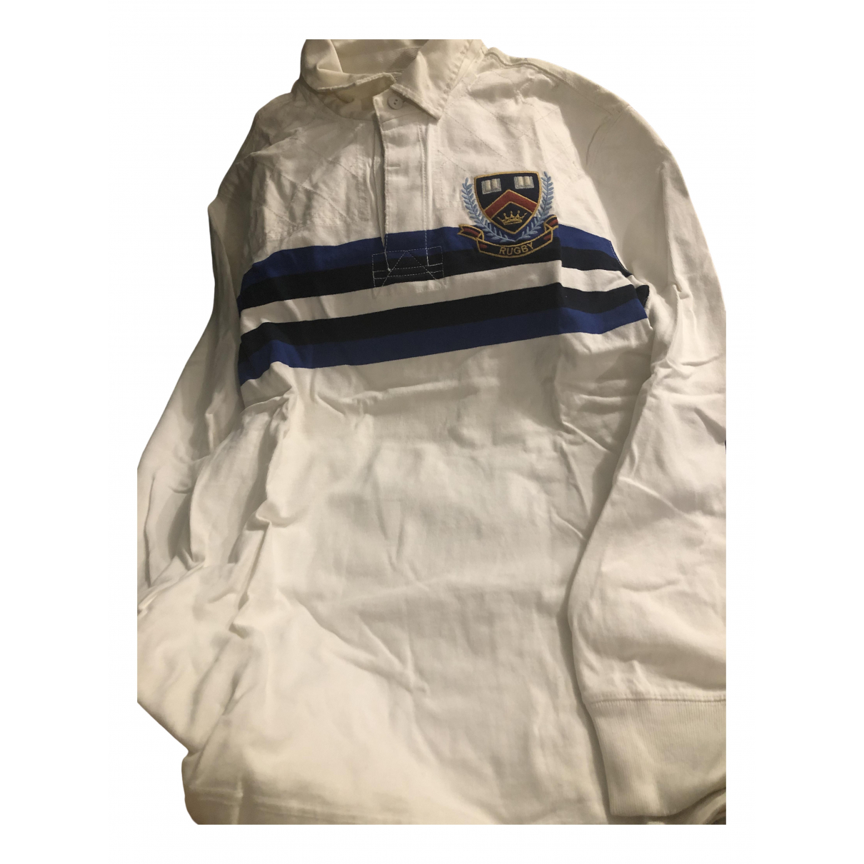 Rugby Ralph Lauren N White Cotton Polo shirts for Men L International