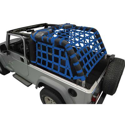 DirtyDog 4x4 Rear Cargo Netting (Blue) - L2NN04RCBL
