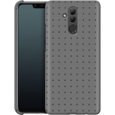 Huawei Mate 20 Lite Smartphone Huelle - Dot Grid Grey von caseable Designs