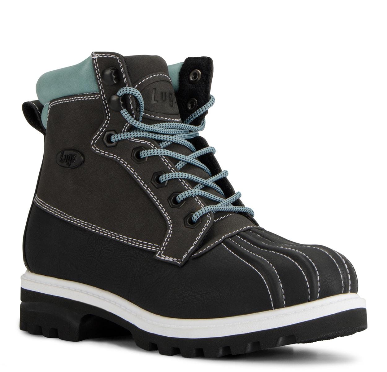 Women's Mallard 6-Inch Boot (Choose Your Color: BLACK/ASPHALT/FLUORITE, Choose Your Size: 10.0)
