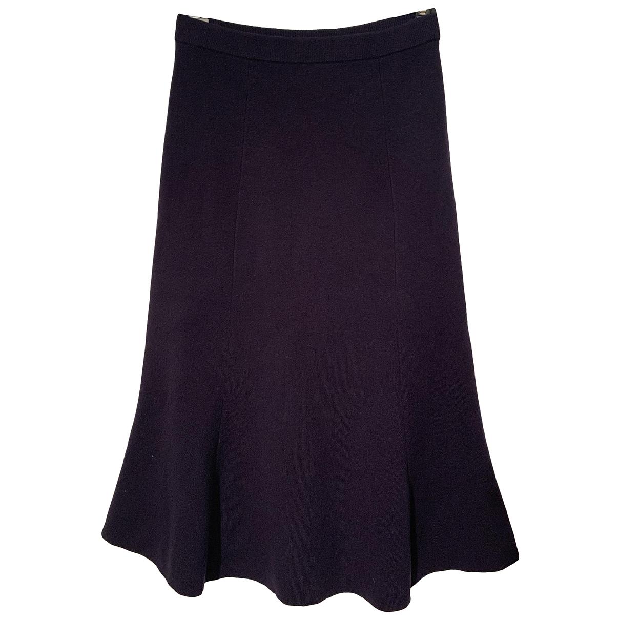 Joseph \N Blue Wool skirt for Women S International