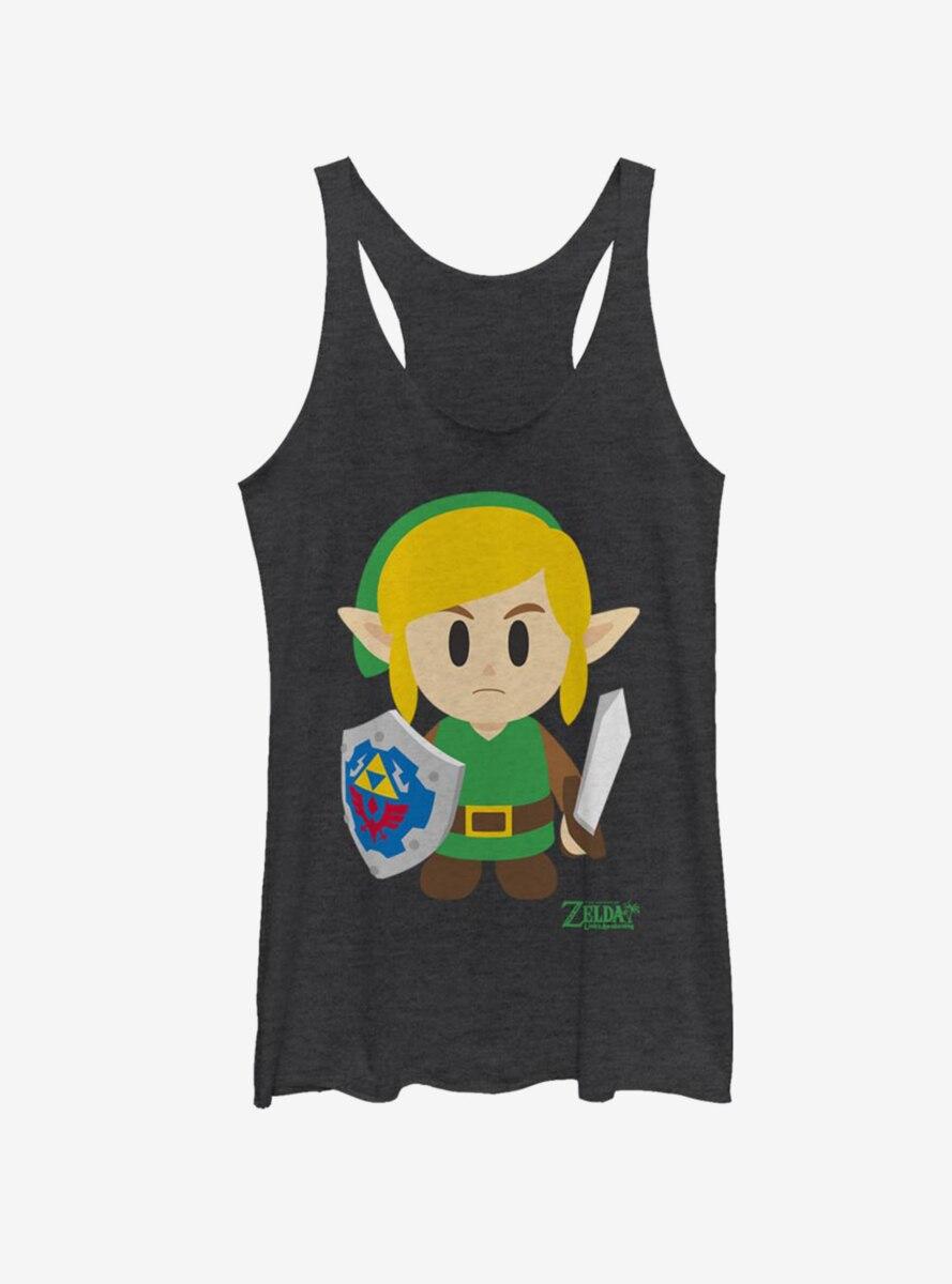 Nintendo The Legend of Zelda: Link's Awakening Link Avatar Color Womens Tank Top
