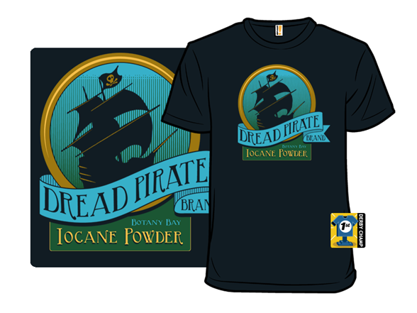 Dread Pirate Brand T Shirt