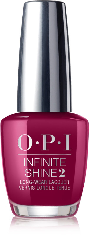 Infinite Shine Long-Wear Nail Polish, Purples - Miami Beet (red-violet)