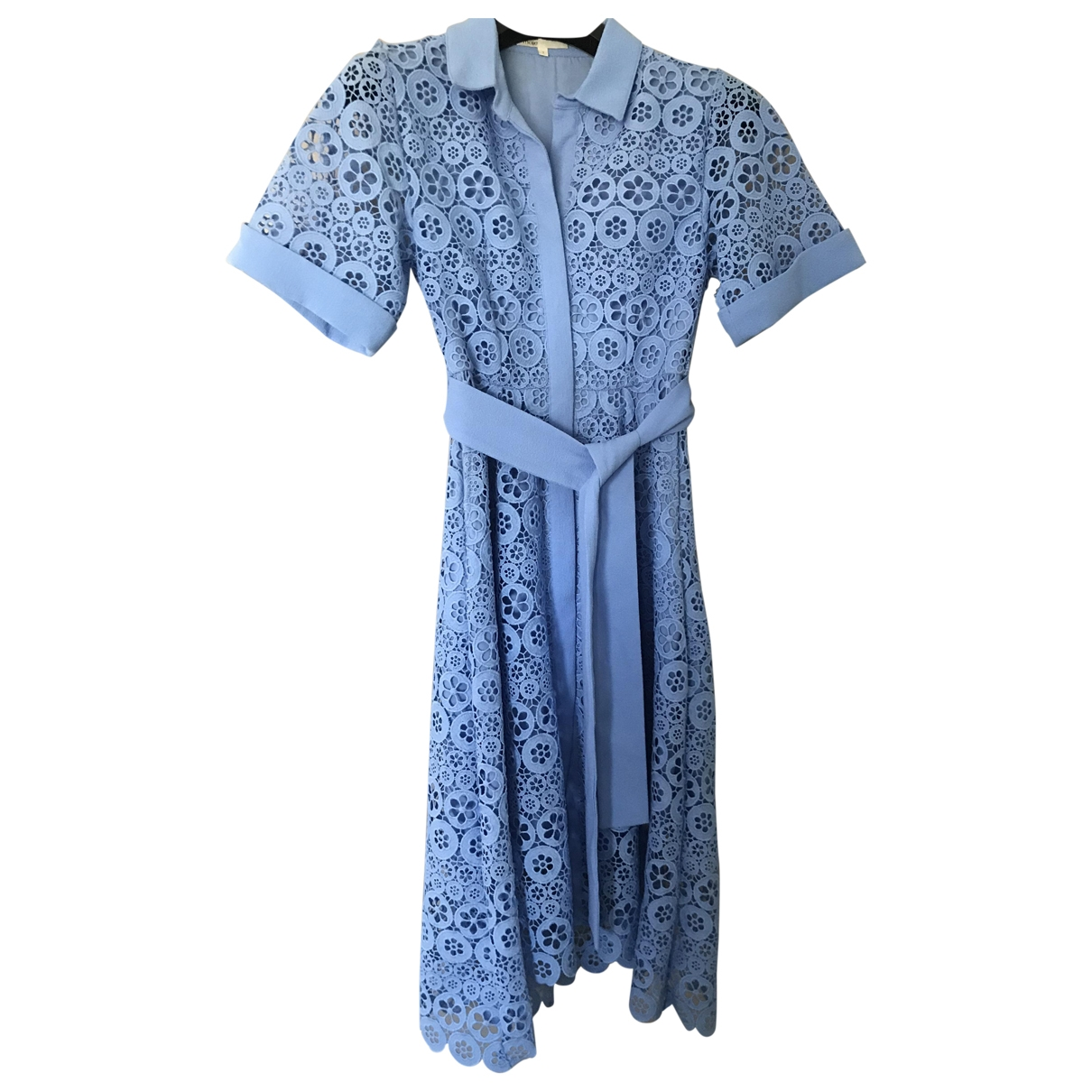 Maje Spring Summer 2020 Kleid in  Blau Polyester