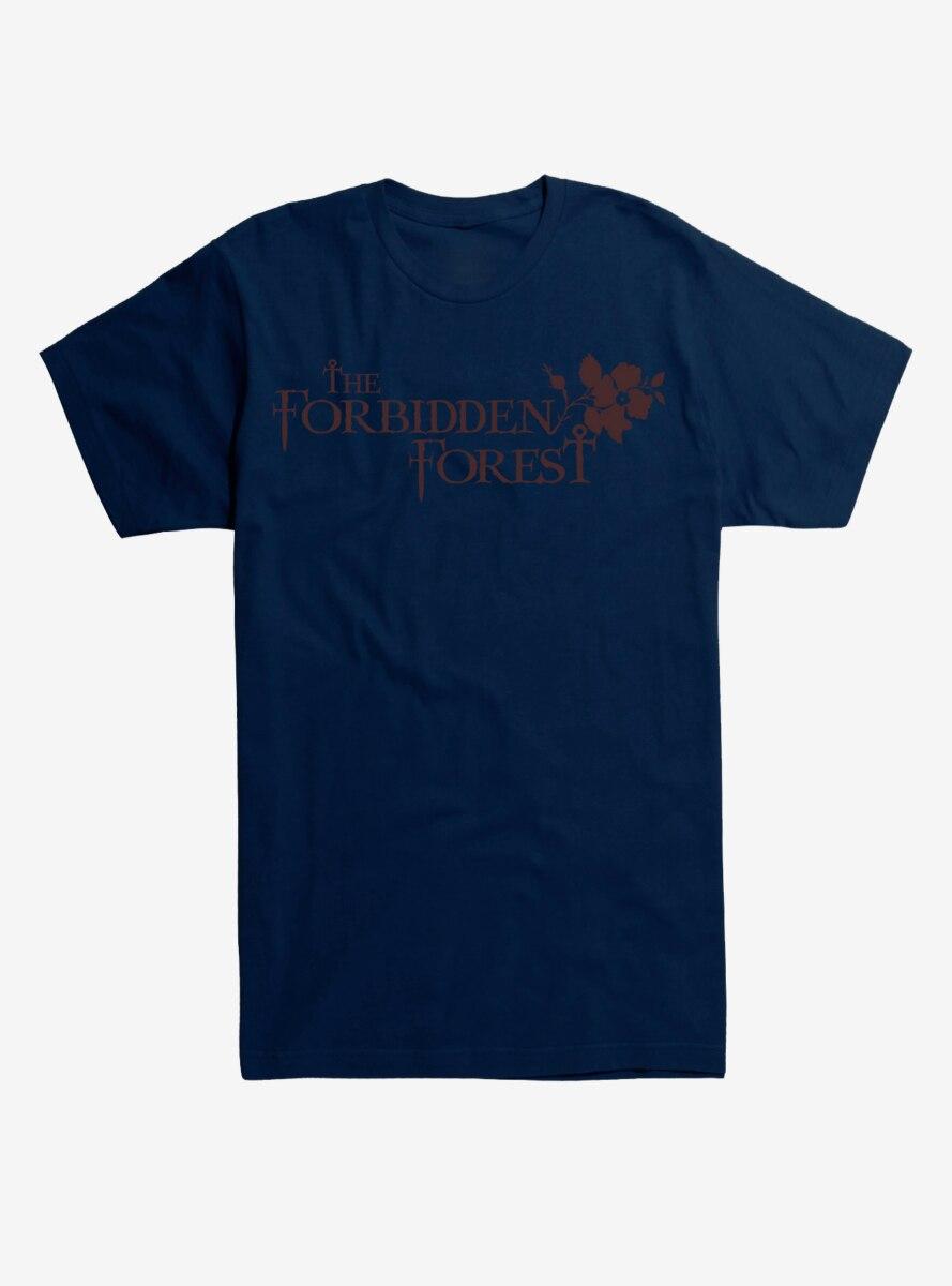 Harry Potter Forbidden Forest Leaves T-Shirt