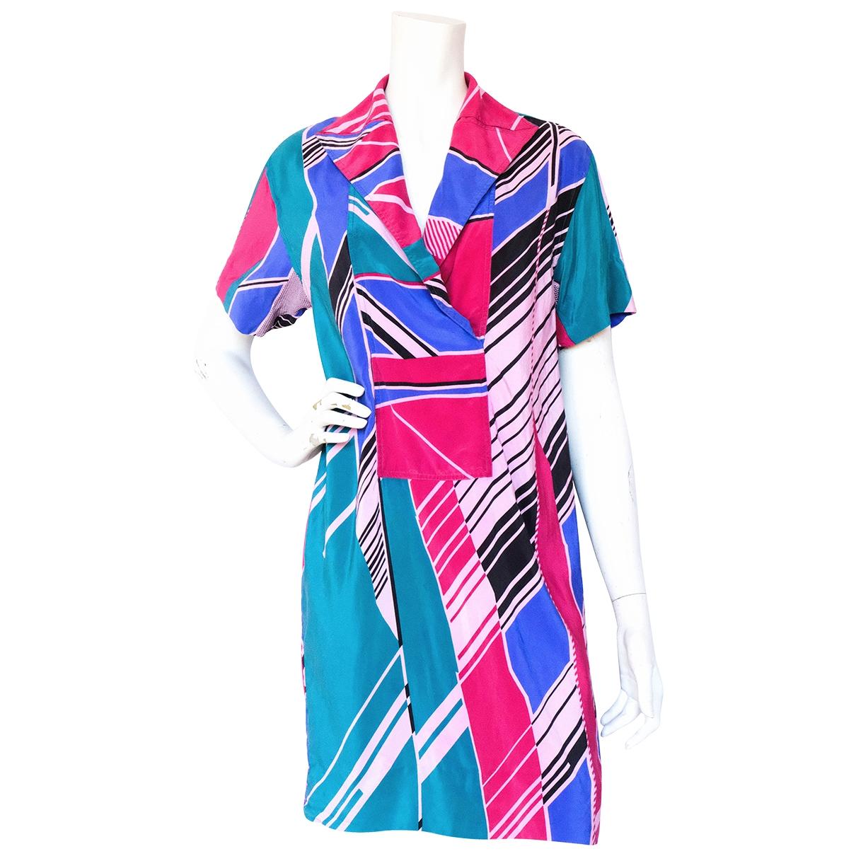 Loewe \N Multicolour Silk dress for Women M International