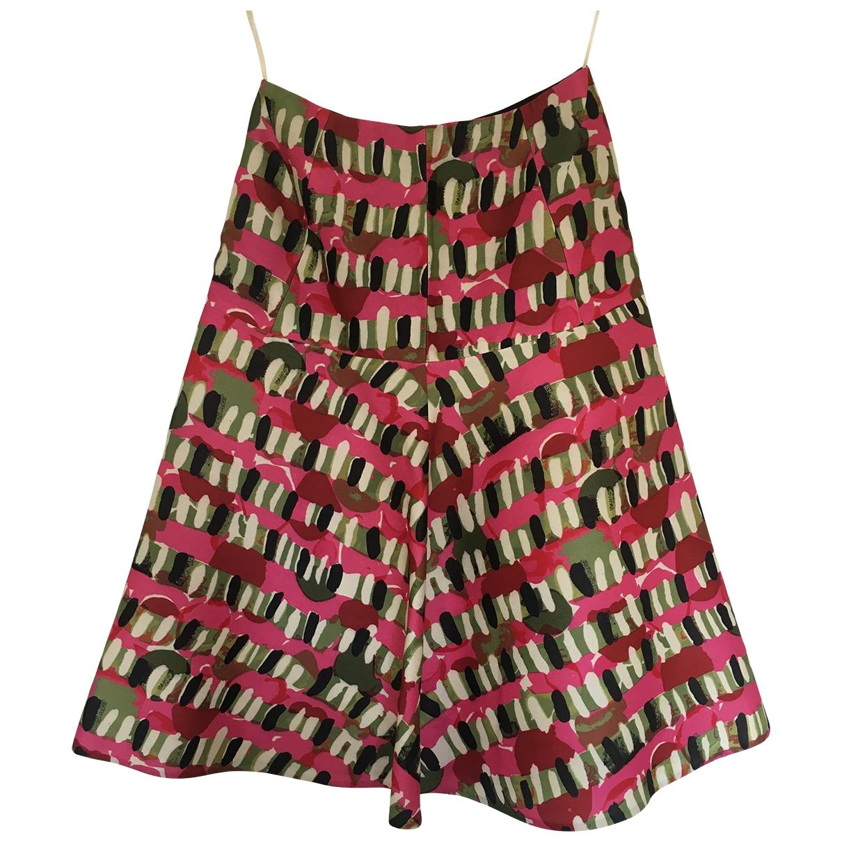 Marni \N Multicolour Wool skirt for Women 38 IT