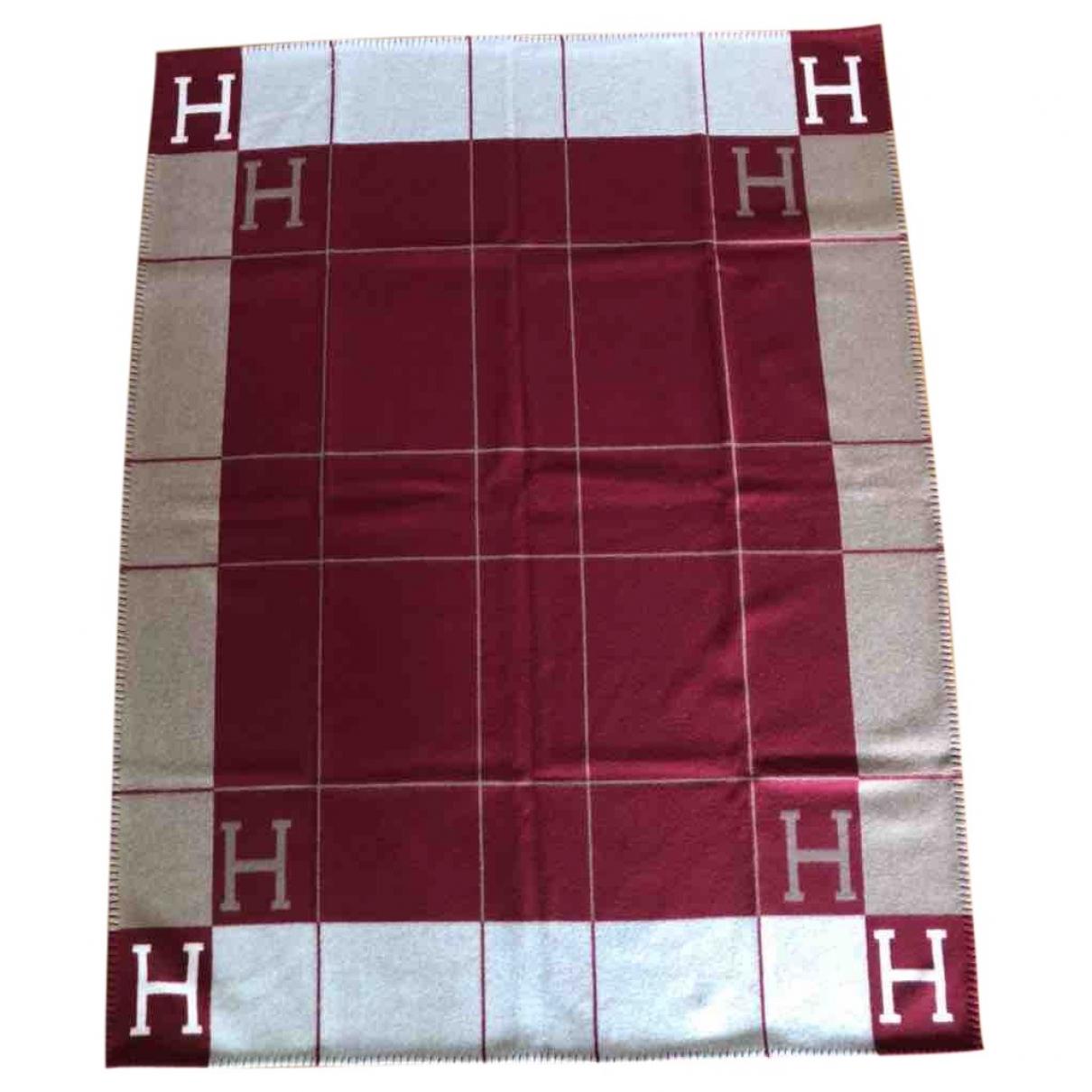 Hermes Avalon Heimtextilien in  Rot Baumwolle