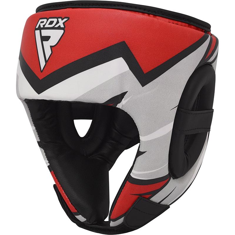 RDX J11 Kinder Boxen Kopfschutz Rot
