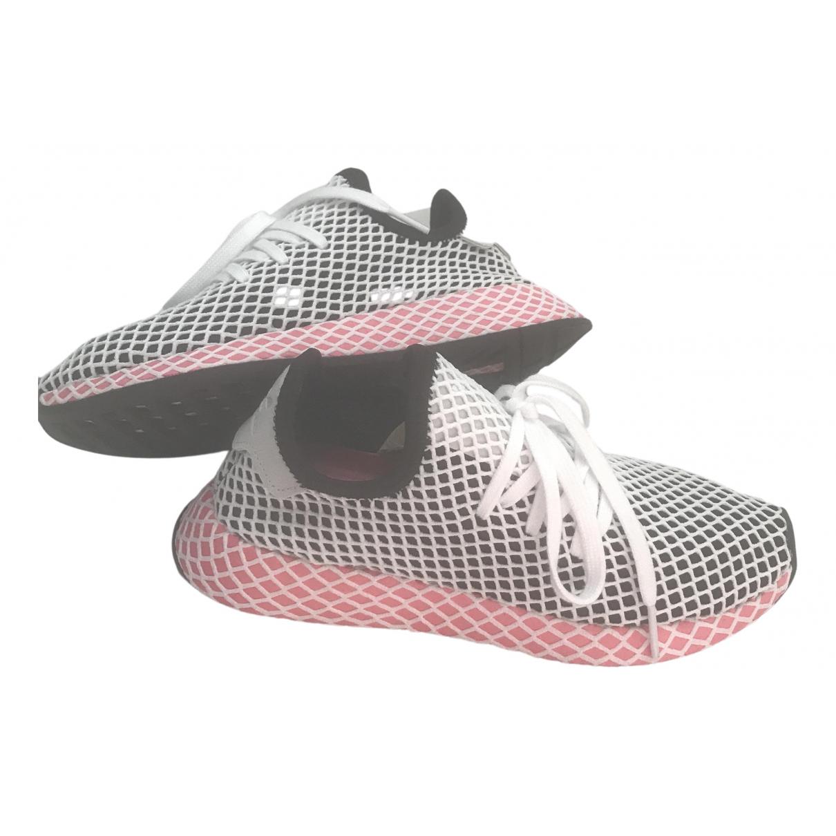 Adidas - Baskets Deerupt Runner pour femme en toile