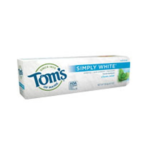 Simply White Toothpaste Clean Mint 4.7 oz by Tom's Of Maine