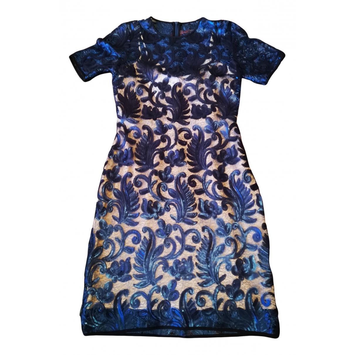 Badgley Mischka - Robe   pour femme - bleu