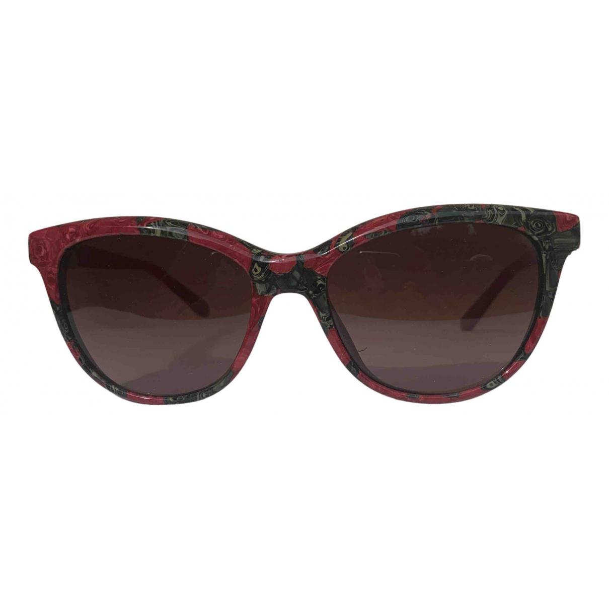 Missoni \N Sonnenbrillen in  Rot Kunststoff
