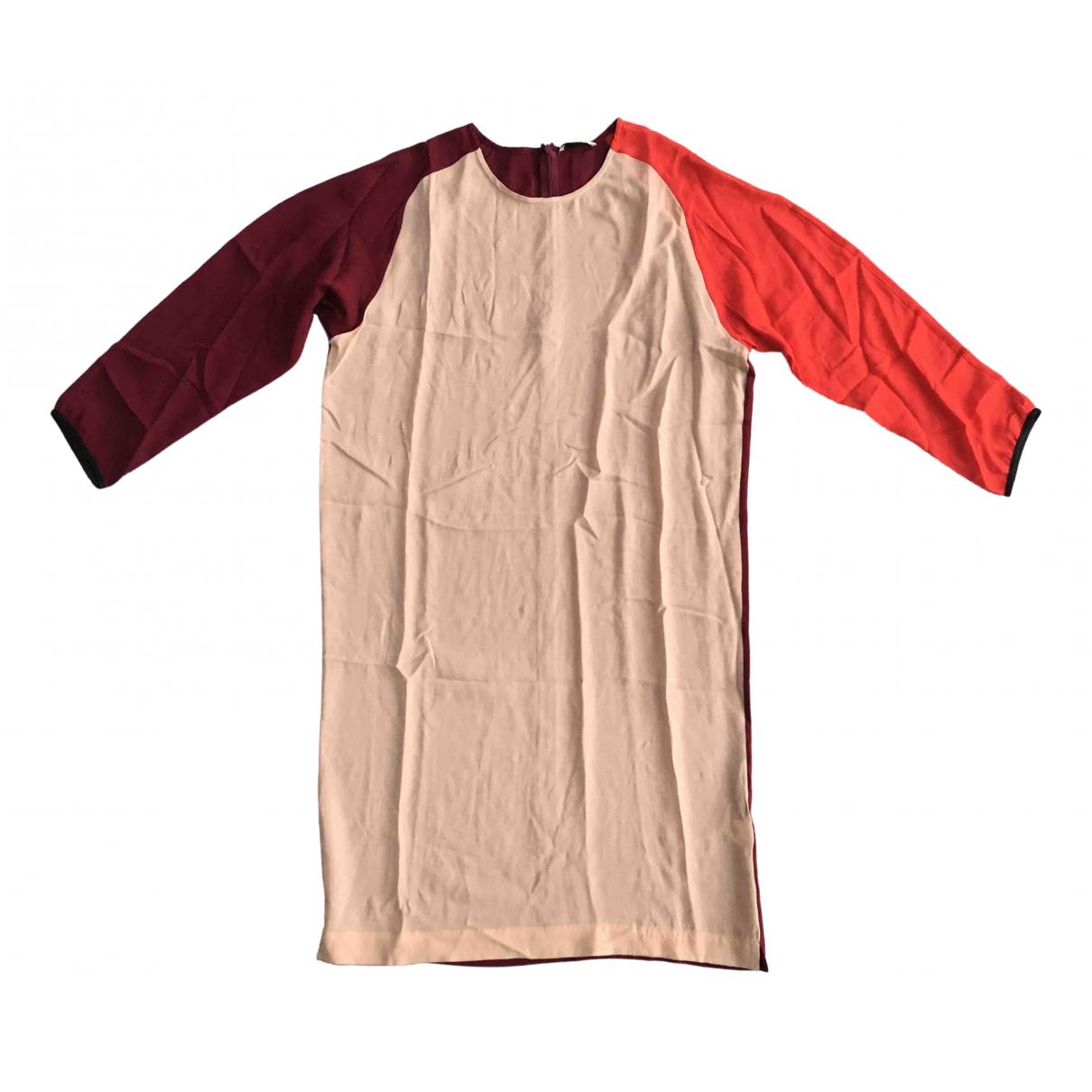 Tome - Robe   pour femme en soie - multicolore