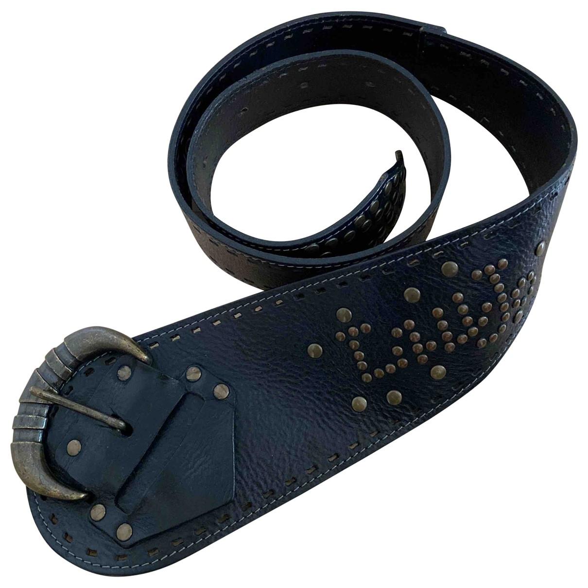 Liu.jo \N Black Leather belt for Women S International