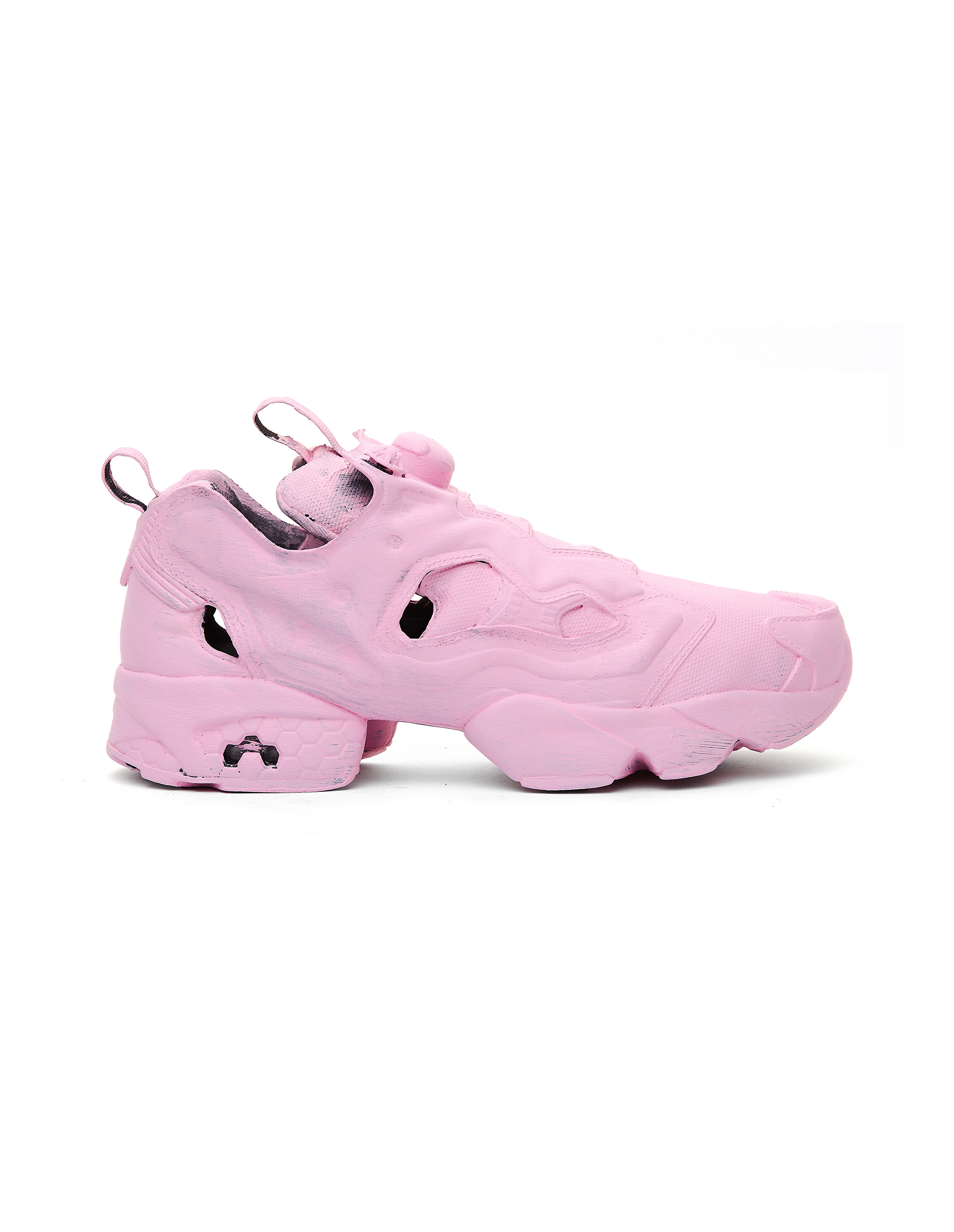 Vetements Pink Reebok Instapump Sneakers