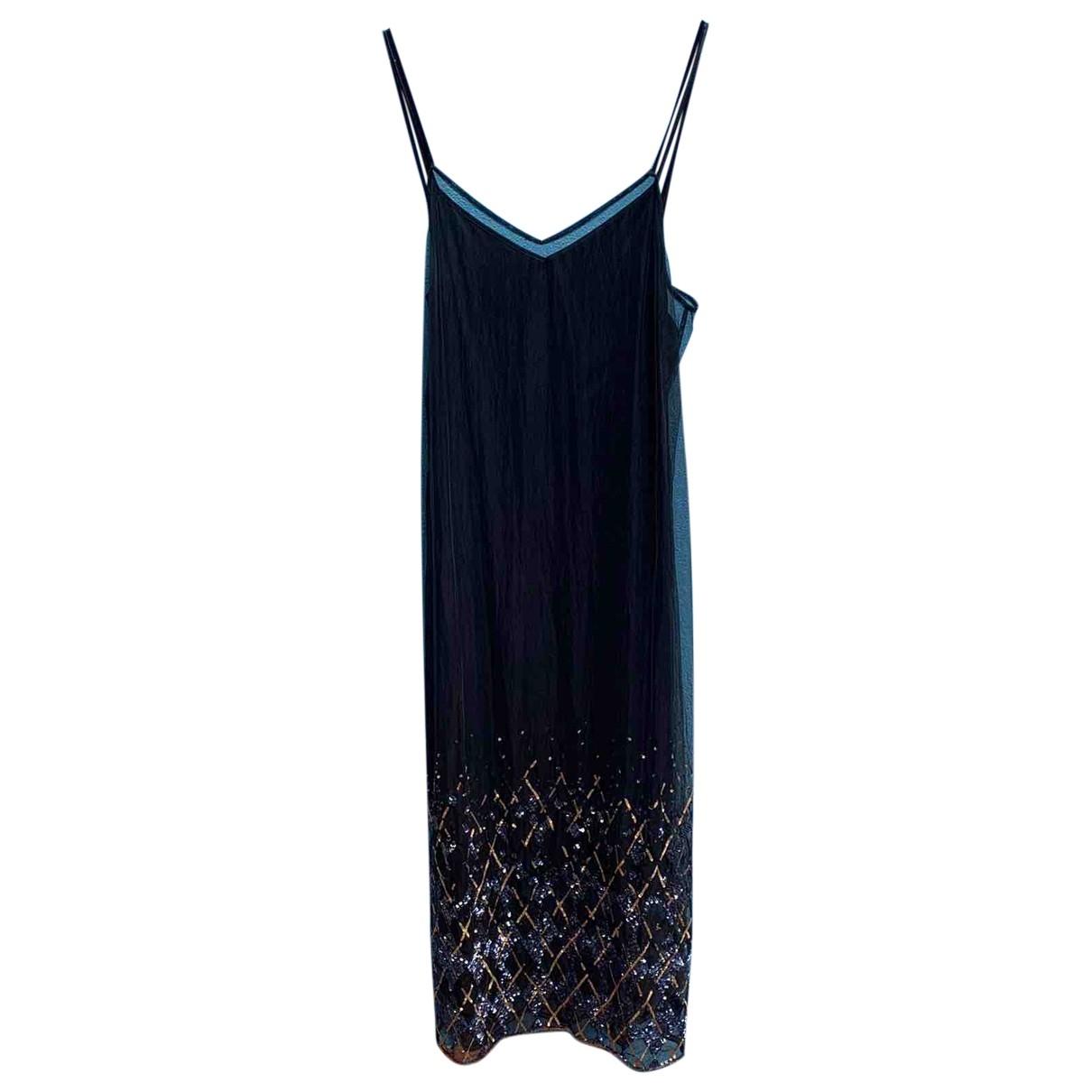 Hilfiger Collection \N Kleid in  Schwarz Polyester