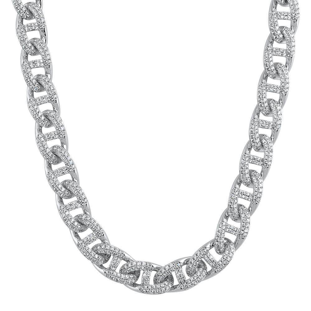 Miami Mariner Bling Bling CZ Iced Out Chain