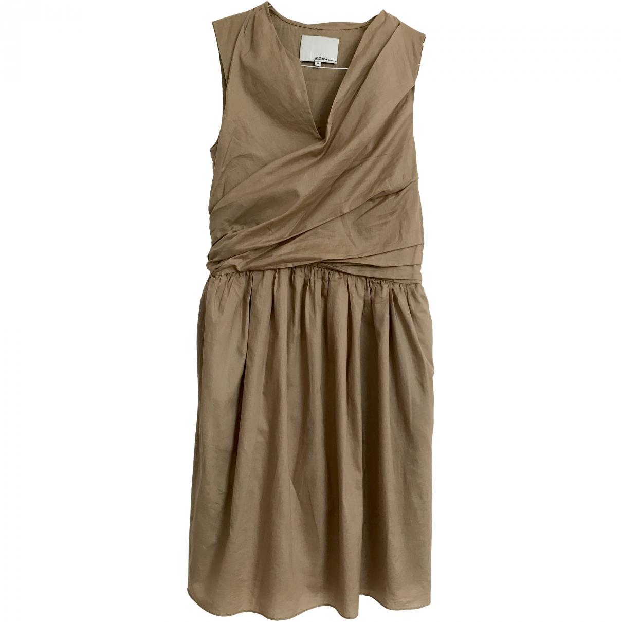 3.1 Phillip Lim \N Beige Cotton dress for Women 0 0-5