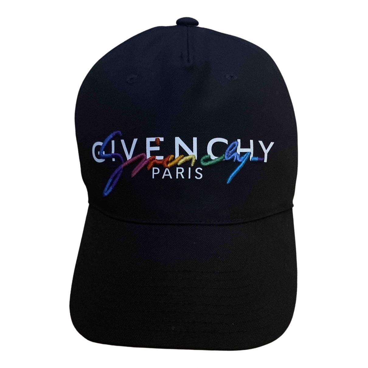 Givenchy \N Hut, Muetzen in  Schwarz Baumwolle