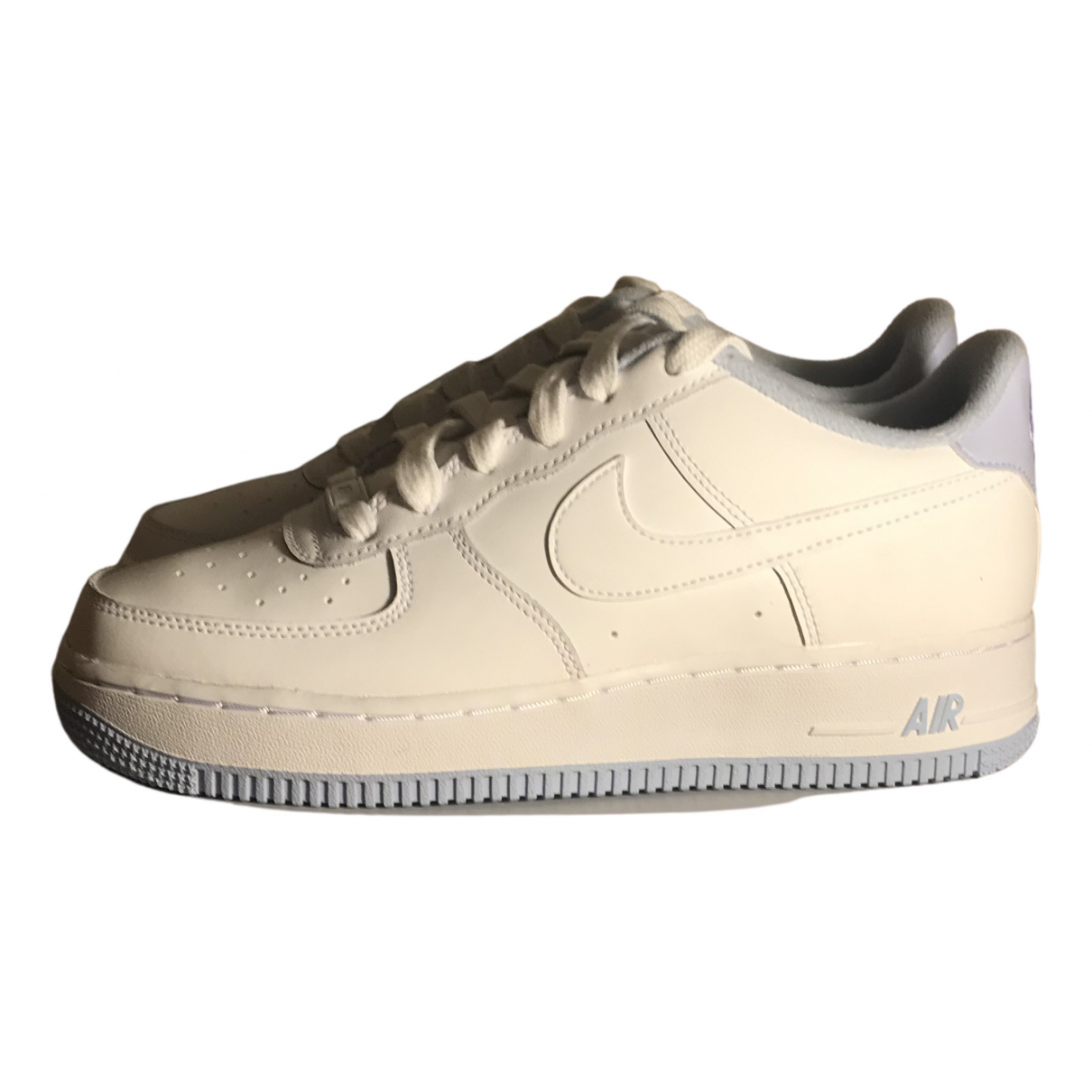Nike Air Force 1 Blue Leather Trainers for Women 38.5 EU