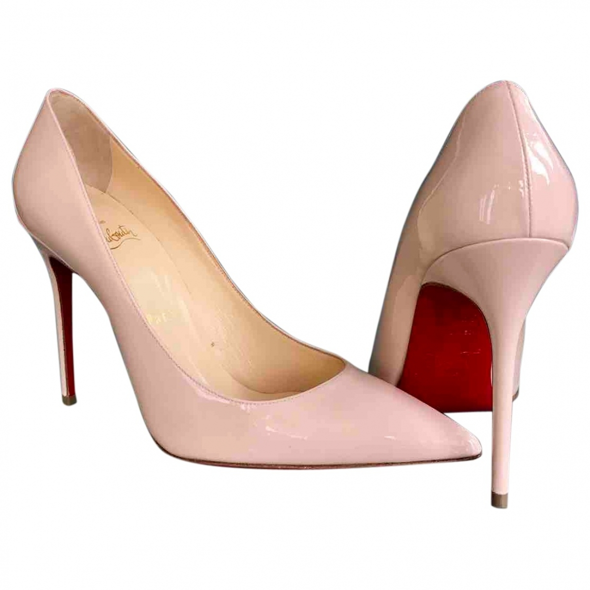 Christian Louboutin - Escarpins So Kate  pour femme en cuir verni - rose