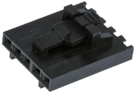 Molex , SL Female Connector Housing, 2.54mm Pitch, 5 Way, 1 Row (10)