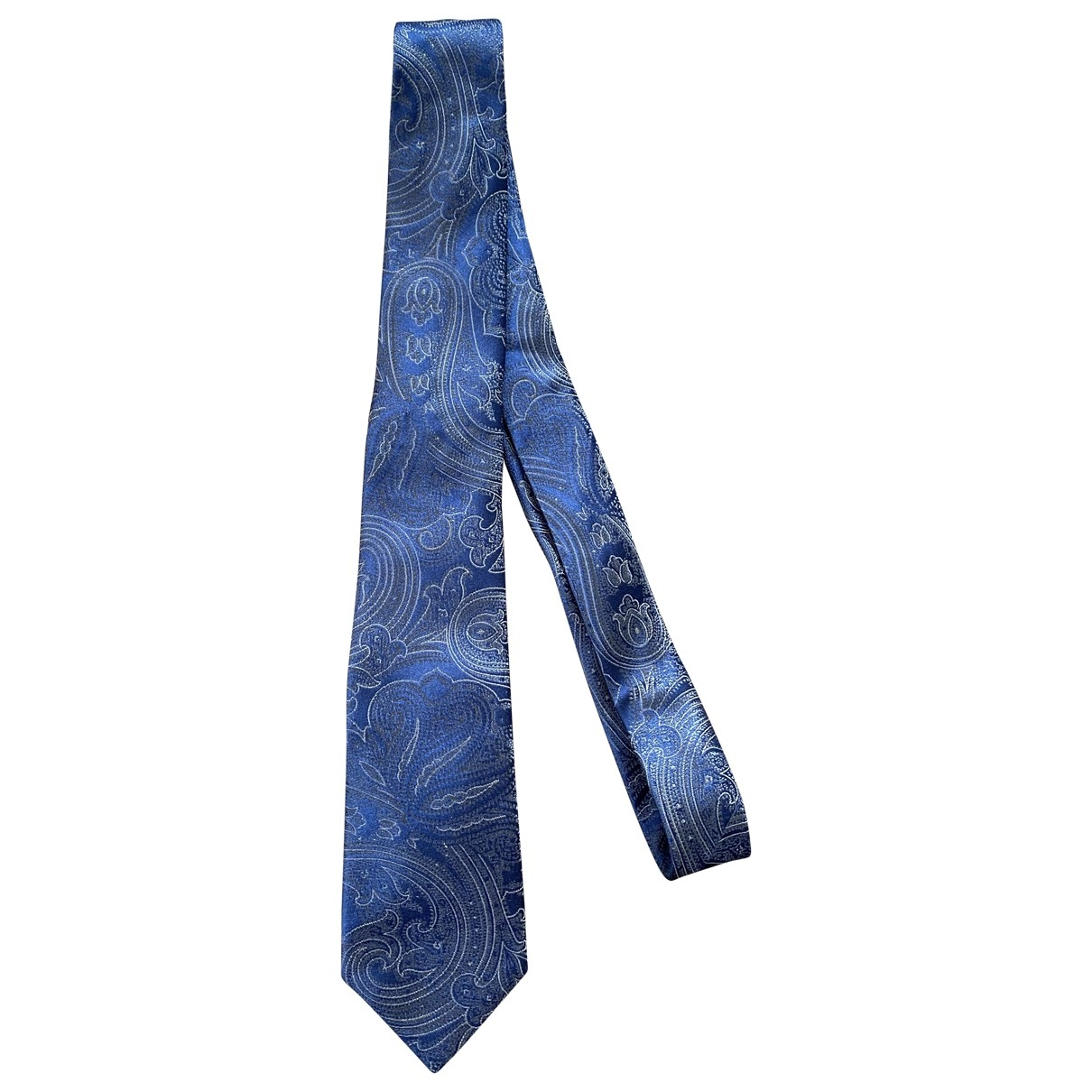 Yves Saint Laurent \N Blue Silk Ties for Men \N