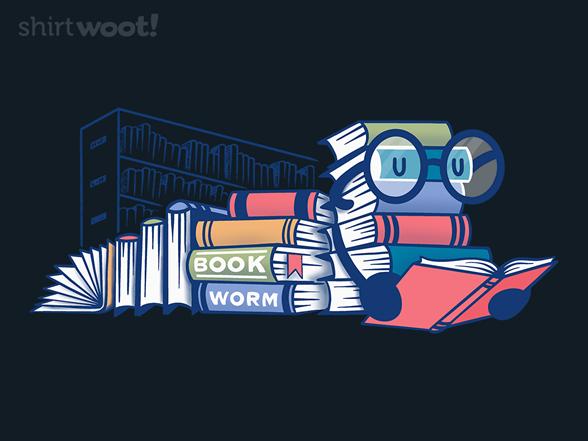 Book Worm T Shirt