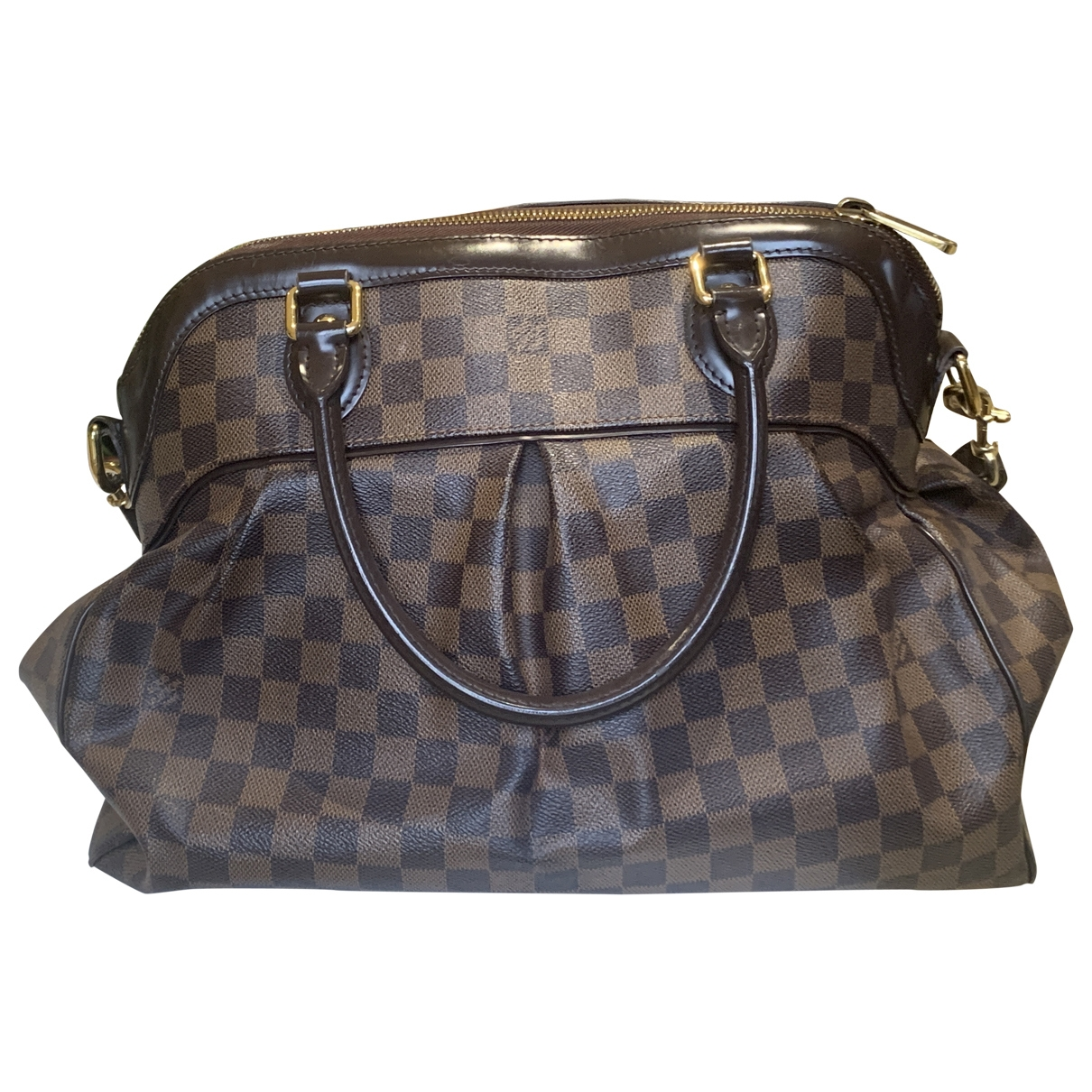 Louis Vuitton Trevi Brown Cloth handbag for Women \N