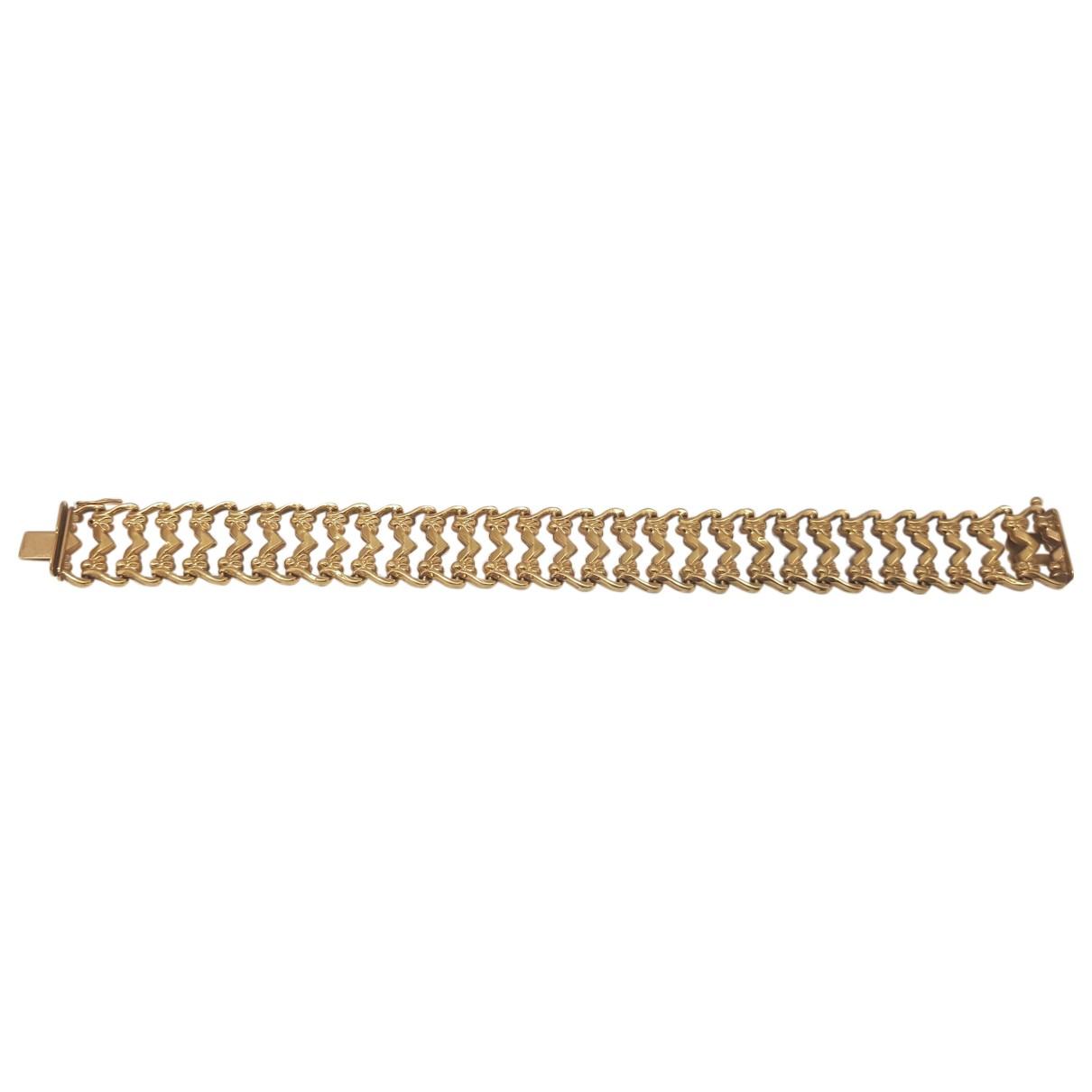 - Bracelet Chaines pour femme en or jaune - jaune