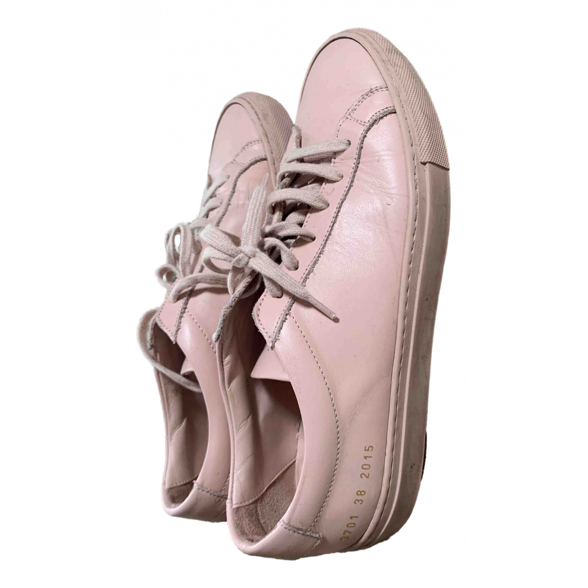 Common Projects \N Sneakers in  Rosa Leder