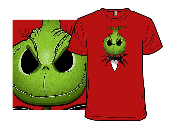 The Nightmare Before Grinchmas T Shirt